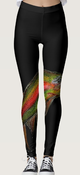 Image of Rainbow Trout Leggings Design One