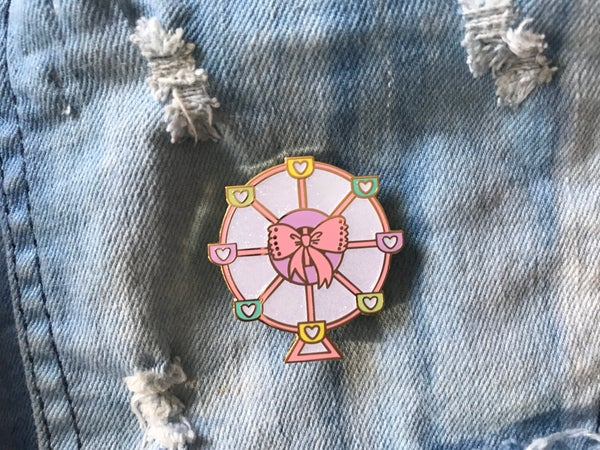 Image of Ferris Wheel v. 2 Enamel Pin