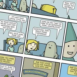 Image of 'Lard and the World Peace Machine' Graphic Novel - Hardback