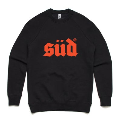 Image of Logo crew neck sweat - Black