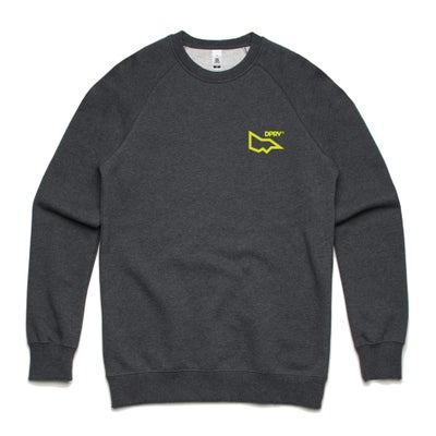 Image of DPRV crew neck sweat - Asphalt marle
