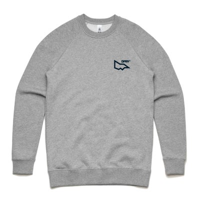 Image of DPRV crew neck sweat - Grey Marle