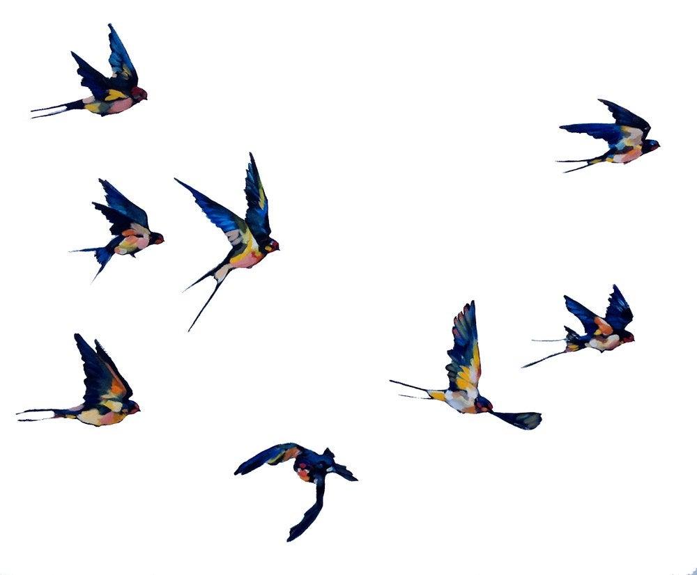 Image of Flying Birds I
