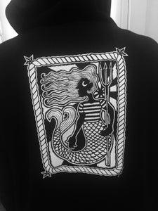 Image of Mermaid zip hoodie