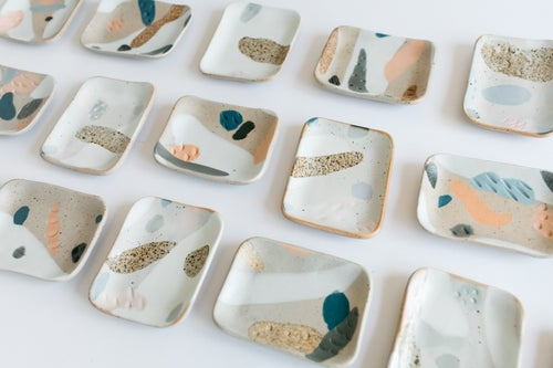 Image of Rectangle Inlay Soap Dishes