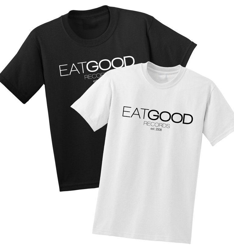 Image of EATGOOD Classic Tee (white/black)