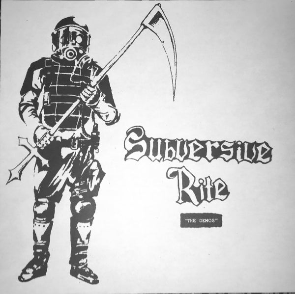 "Image of SUBVERSIVE RITE-""the demos"" LP"