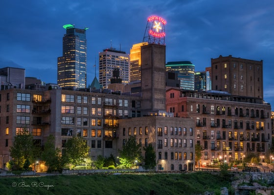 Image of Mill City at Night