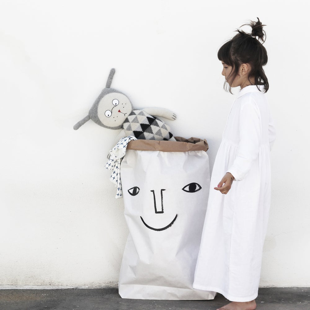 Image of PAPER BAG HAPPY FACE COLLECTION