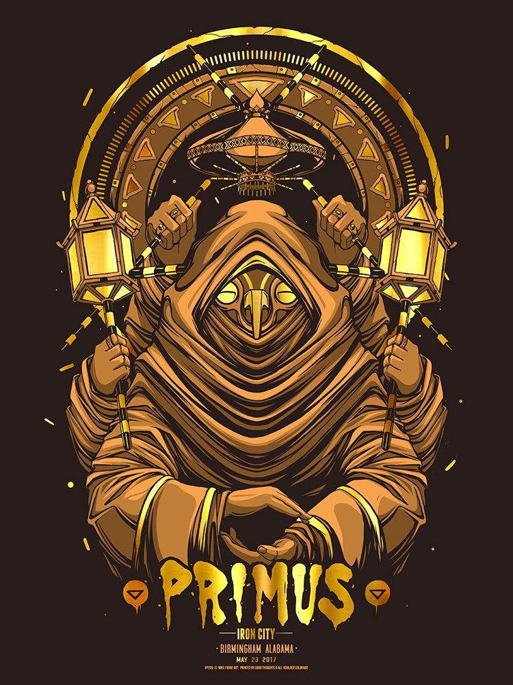 Image of Gold Foil - Primus - Birmingham, AL