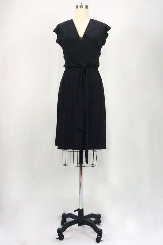 Image of Rita Hayworth Short Sleeves (Black)