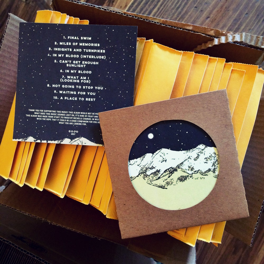 Image of Michelle Chamuel - Insights & Turnpikes CD w/Art Print