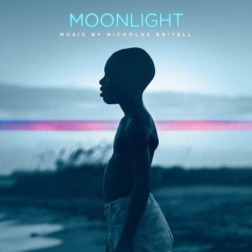 Image of Moonlight 'Transparent Blue Vinyl' - Nicholas Britell