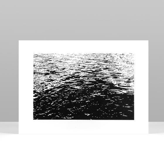 Image of SEA riso print