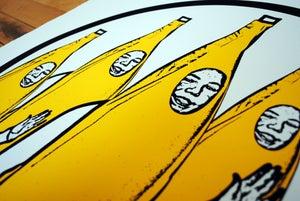 Image of Gang Screen Print Yellow
