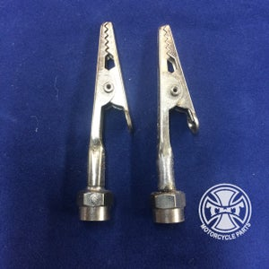Image of Pair of Traditional Chooper Valve Stem Covers
