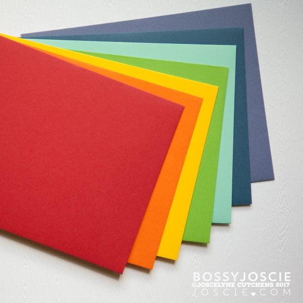 Image of Rainbow Envelopes