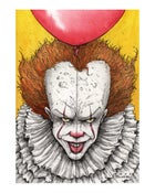 Image of 'IT Smiles' art print