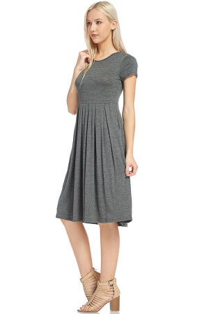 Image of Classic Gray Dress | sizes S-L