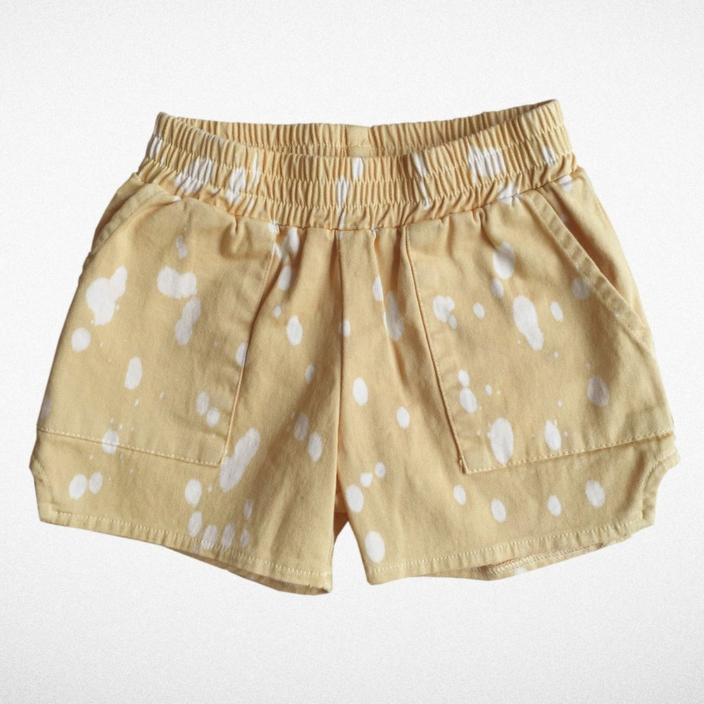 """Image of Tiny Whales """"Dad short"""" in tan"""