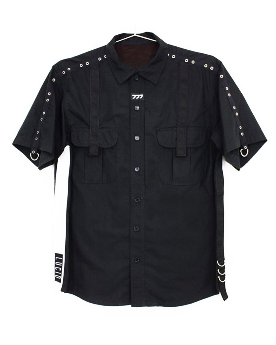 """Image of """"FULL METAL"""" BUTTON UP SHIRT"""