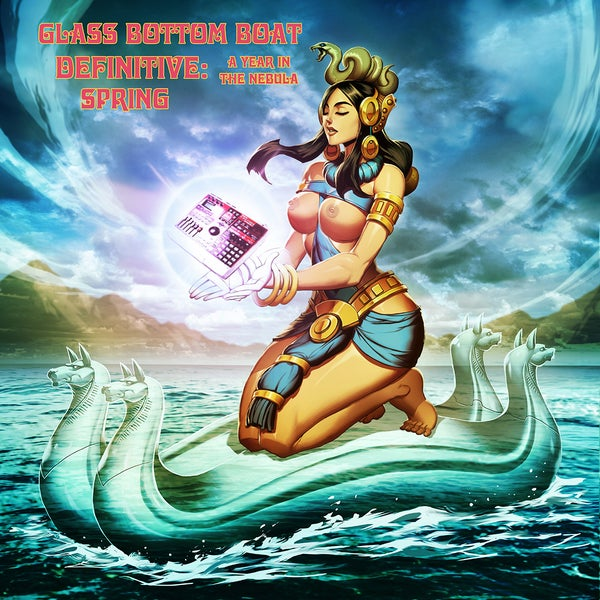 """Image of Vinyl: Glass Bottom Boat """"Definitive: A Year In The Nebula-Spring"""""""