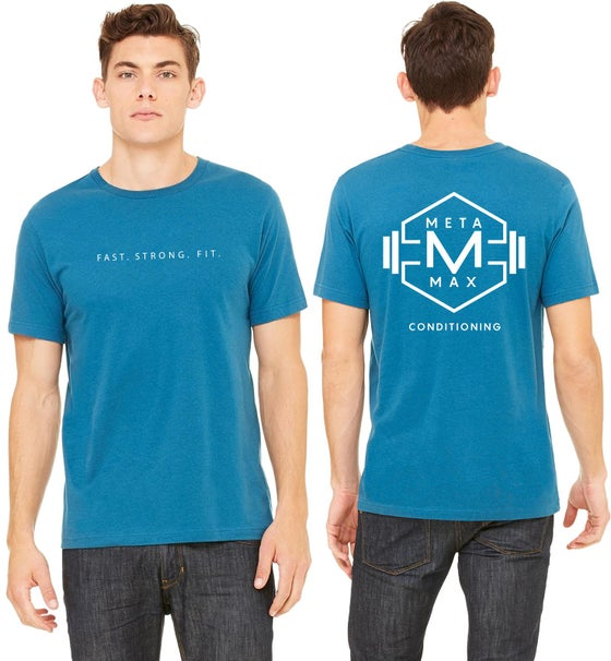Image of Mens Logo Tee - Blue - Pre Order