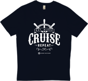 Image of Eat, Sleep, Cruise & Repeat T-Shirt