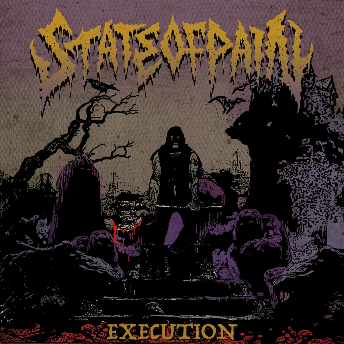 Image of STATE OF PAIN - execution ep, Digipak CD