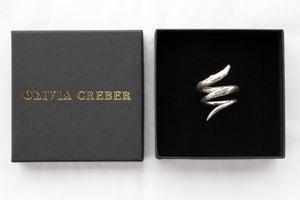 Image of Rose Gold Vermeil Twist Ring