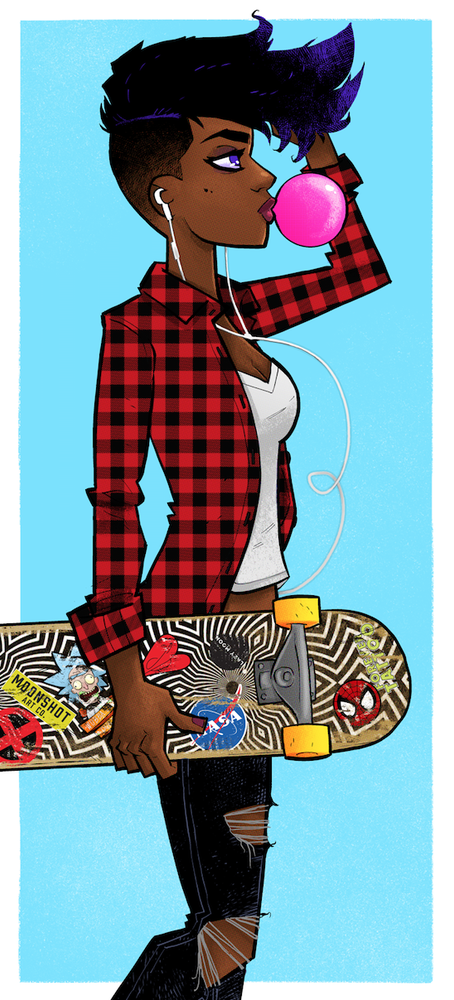 Image of Skater Betty