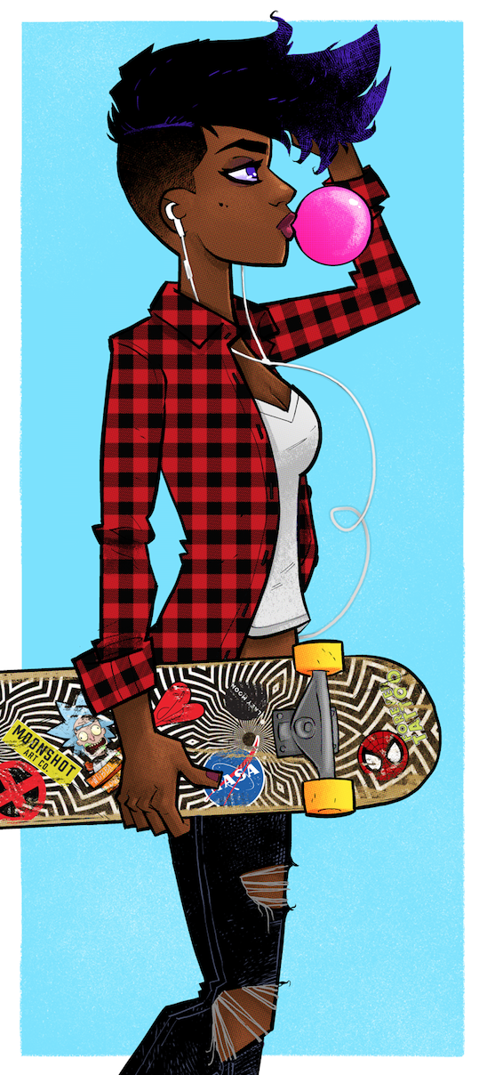 Image of Skater Betty