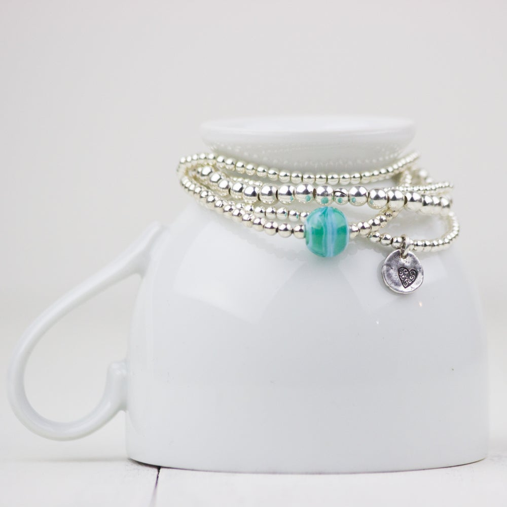 Image of Nina Stack Bracelets - Bauble