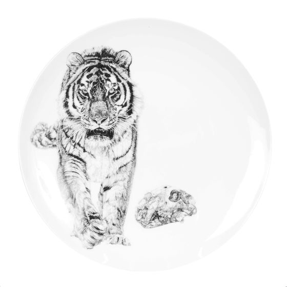Image of BANG! LIMITED EDITION FINE ENGLISH BONE CHINA COUPE PLATE