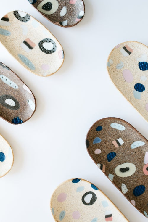 Image of Long Allsorts Inlay Oval