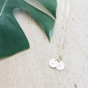 Image of Small Custom Coin Necklace
