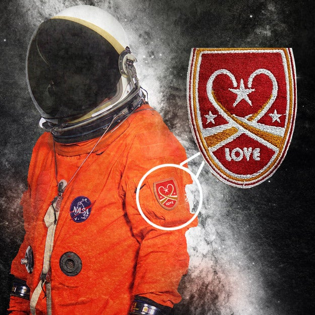 """Image of """"Love"""" Space Patch"""