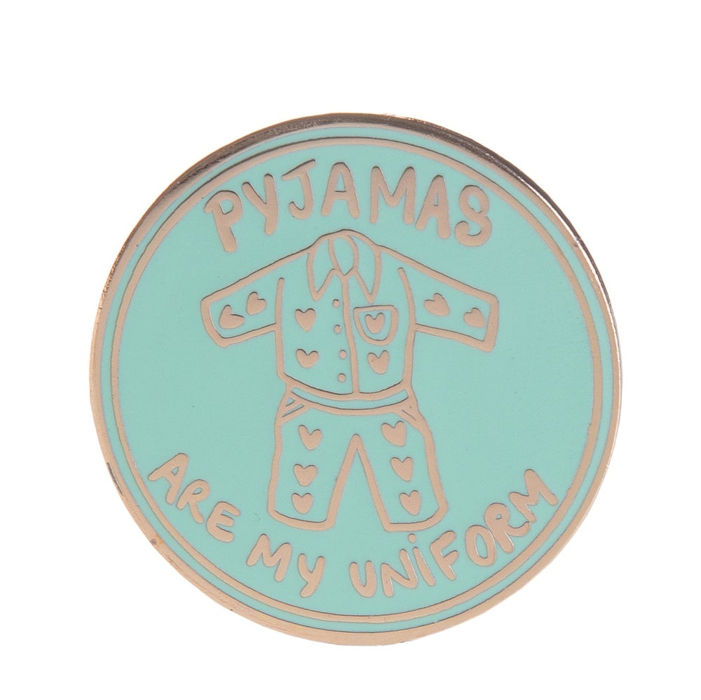 Image of Pyjamas Enamel Pin