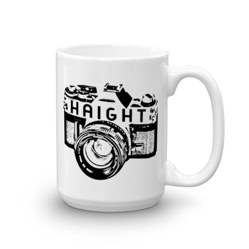 Image of Haight Camera Mug