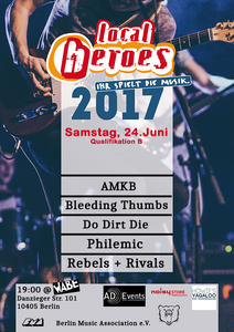Image of TICKETS: local heroes-Berlin - Qualifikation B