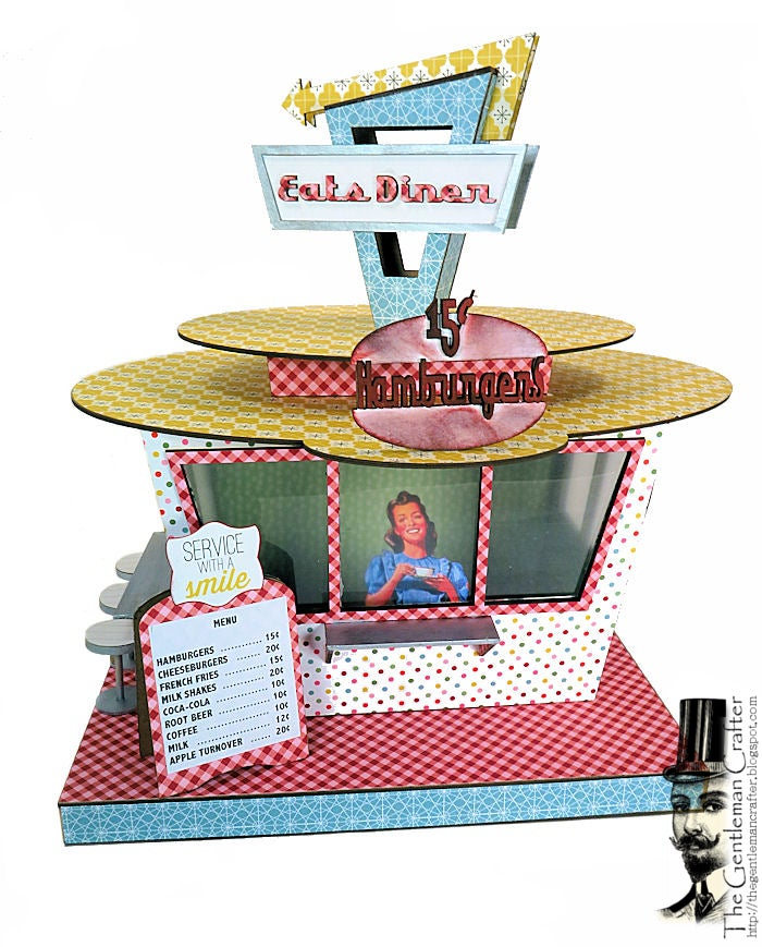 Image of MAY'S Village Collection:  Retro Drive-In Kit with Paper