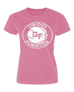 Image of EXCLUSIVE PINK GRINDFOREVER TEE