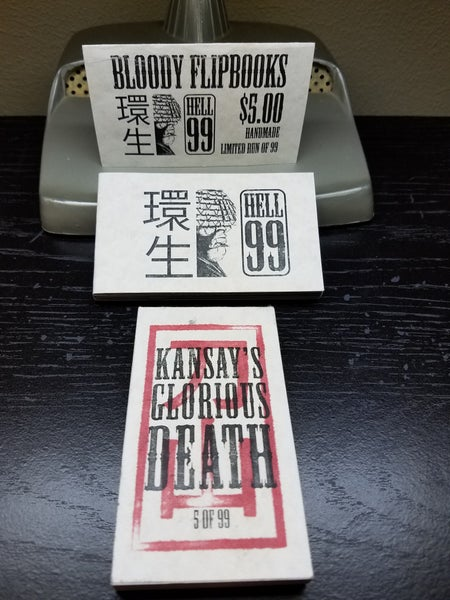 Image of Bloody Flipbooks - Kansay
