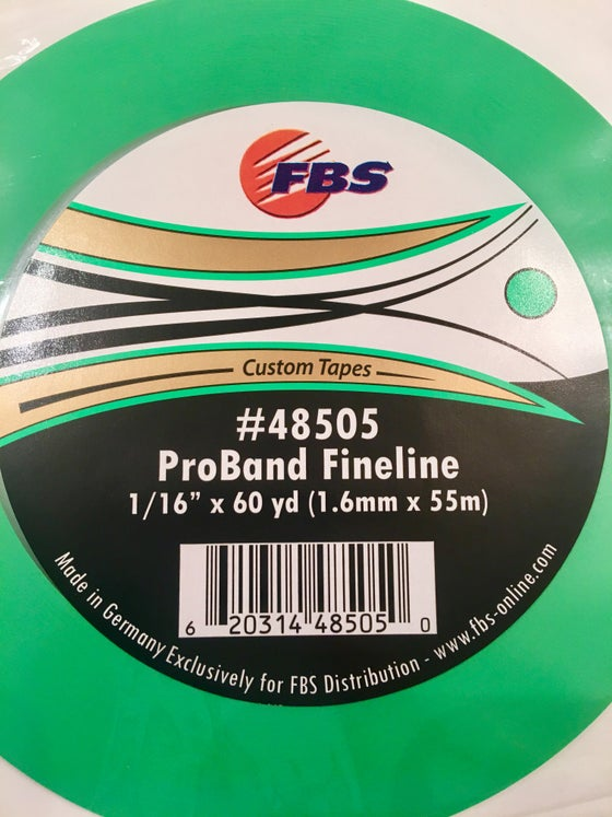 Image of FBS GREEN 1/16 FINELINE TAPE