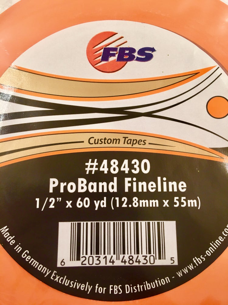 Image of FBS TAPE - ORANGE 1/2