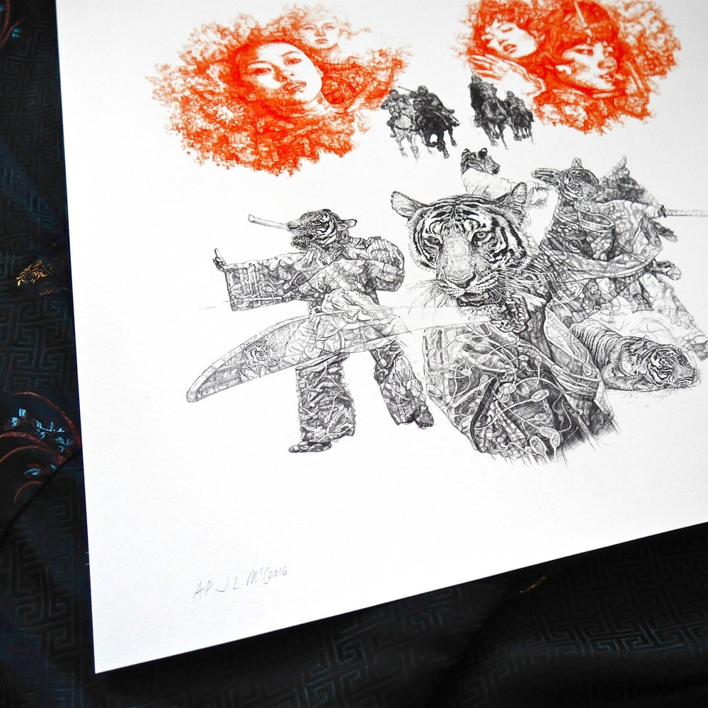 Image of YIN AND YANG LIMITED EDITION PRINT