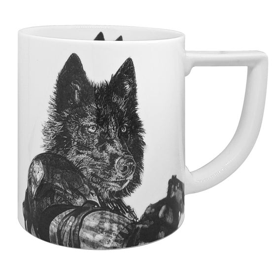 Image of REVENGE FINE ENGLISH BONE CHINA MUG