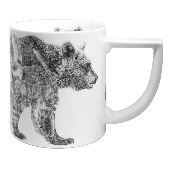 Image of MUMMY BEAR FINE ENGLISH BONE CHINA MUG