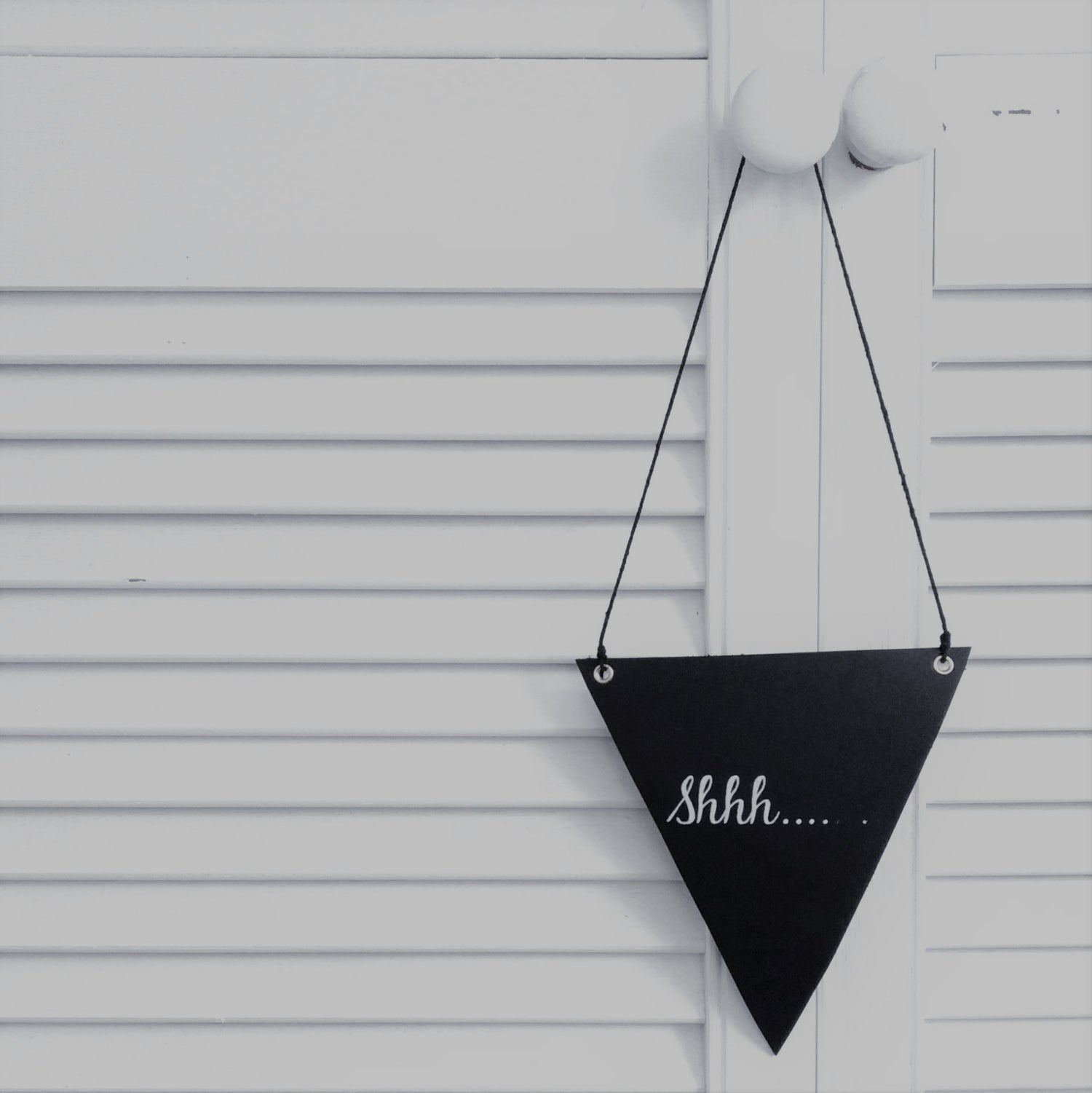 Image of Printed Leather Flag