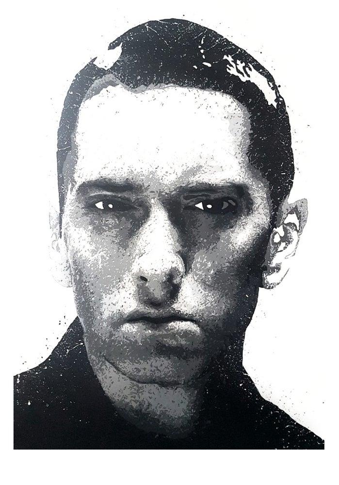 Image of A3 Eminem print